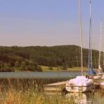 Segelboote am Aartalsee