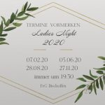 Save the date: Ladies Night 2020