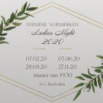 Save the date: Ladies Night 2020