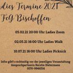 Ladies Termine 2021